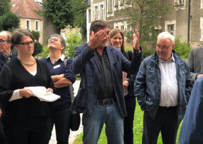 Besuch Katrin Schuetz Schloss Huerbel