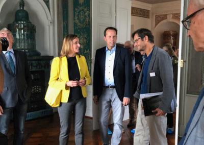 Delegation Wirtschaftsministrum mit Katrin Schütz