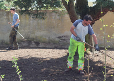 Jonas hilft auf Schloss Huerbel