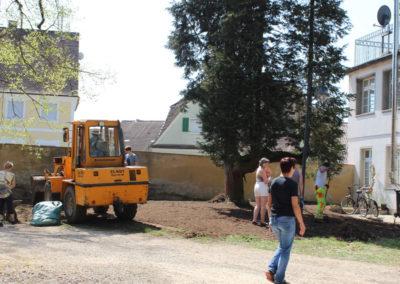 Schloss Huerbel Einsatz Freunde Verschoenerung