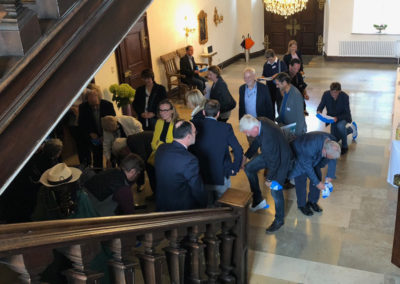 Schloss Huerbel_Besuch Katrin Schuetz Staassekreätin Wirtschaft